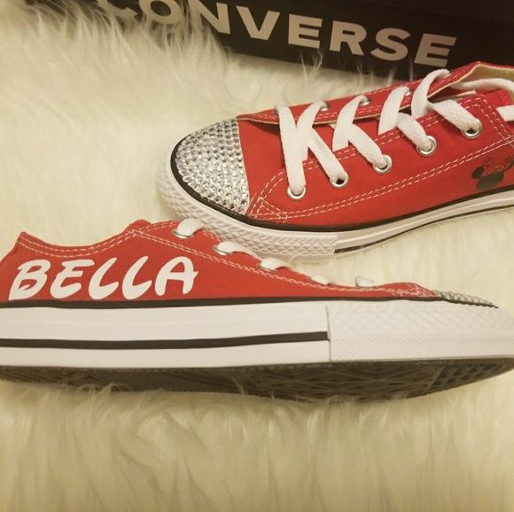 f3a3fa2aedaa30 Converse Shoes | Custom Minnie Mouse | Poshmark